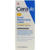CeraVe Moisturisers, Moisturising Facial Lotion AM, 90ml Per Pack
