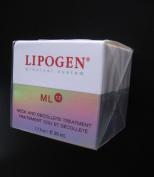 Lipogen Bionical System Ml 12 Neck and Decollete Treatment 50 Ml/ 1.7 Fl. Oz. Made in Germany