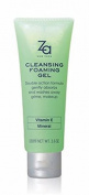 Shiseido Za Cleansing Foaming Gel Double Action Formula Gently Absorbs and Washes Away Make up 100ml