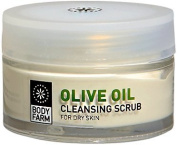Olive Oil Face Scrub for Dry Skin 50ml E / 1.69 Oz By Bodyfarm