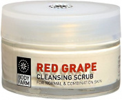 Red Grape Face Scrub 50ml E / 1.69 Oz By Bodyfarm
