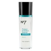 Boots No7 Protect & Perfect Intense Advanced Serum Bottle 1 Fl Oz / 30 Ml
