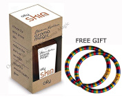 Aroma Magic Oily Skin Oil 20ml - With FREE GIFT (Pair of Multicolor Bangles) and.