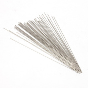 100x Beading Needles Threading Cord Tool Fit Jewellery Making Threading 0.45*80mm