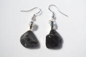Turritella Stone Sterling Silver Earrings