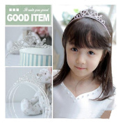 Rhinestone Bridal Headpiece for Wedding Headbands Wedding Crown for Children