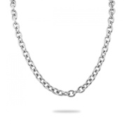 VALYRIA 2m Stainless Steel Links-Opened Cable Chain Necklace Making Jewellery Findings 10mmx8mm