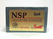 Chavant NSP SOFT - 0.9kg. Professional Oil Based Sulphur Free Sculpting Clay - GREEN