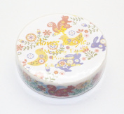Aimez Le Style Primaute Collection Folk Art Nature Masking Deco Tape Standard.