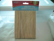 Crafters Square Jumbo Wood Craft Sticks - 60 sticks - .180cm x 15cm