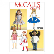 McCall's 46cm Retro Doll Clothes - Size