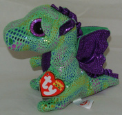 NEW! 2015 TY Beanie Boos CINDER the Dragon 15cm IN HAND