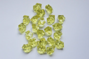 HotCandy Golden Acrylic Diamonds for Party Wedding Decoration.Vase Aquariam Fillers--30 Pcs