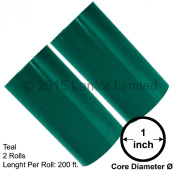Hot Stamp Foil Stamping Tipper Kingsley 2 Rolls 7.6cm x 60m Teal