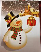 4 Christmas Gift Boxes 28cm X 21cm X 3.8cm