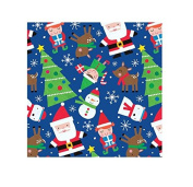 International Greetings Jumbo Roll Wrapping Paper, North Pole Toss