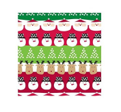 International Greetings Jumbo Roll Wrapping Paper, Santa and Friends, 3m Long
