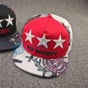 New Embroidery Stars Hip-hop Snapback Baseball Adjustable Cap Trucker Hat Visor