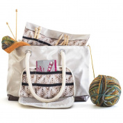 Great Useful Stuff Knitting Tote with Needle Sleeve
