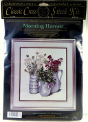 Cross My Heart 1996 Morning Harvest Cross Stitch Needlepoint Kit