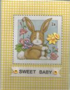 Mary Engelbreit Sweet Baby Album Bunny Rabbit Yellow Gingham
