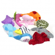 Sandistore Soft Animal Puppet Baby Girl Boy Finger Toys Plush Toy