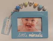 """Wishes & Kisses """"Little Miracle"""" (7.6cm x 13cm ) Picture Frame"""