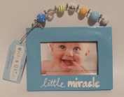 "Wishes & Kisses ""Little Miracle"" (7.6cm x 13cm ) Picture Frame"