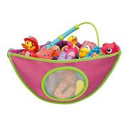 Corner Bathtub Toys Organiser Baby Bath Toys Storage Bag
