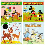 "Disney ""My First Books"" Set of 4 Baby Toddler Storybooks"