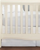 Hudson Park Collection Percale Baby Crib Skirt - Pear