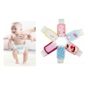 Infant Baby Cotton Nappy Buckle Adjustable Reusable Elastic Fixed Belt (Size