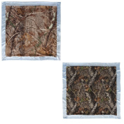 Camouflage Baby Boy Blanket Gift Set - Realtree AP and Mossy Oak Camo Print