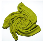 Bamboo Swaddle Blanket for Babies - Bright Green