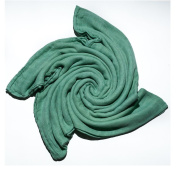 Bamboo Swaddle Blanket for Babies - Light Green