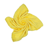 Bamboo Swaddle Blanket for Babies - Yellow