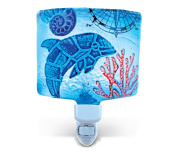Puzzled Nightlight - Dolphin Glass décor - Ocean \ Sea Life Collection - Unique Gift and Souvenir - Item #9742