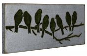 Metal Sparrow Wall Art I Model-41015