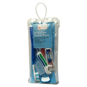 Oral Care Travel Pack with Crest Toothpaste