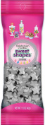 Sweetworks Stars Shapes Candies Peg Pouch, 45ml, Shimmer Silver