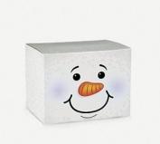HOLIDAY SNOWMAN GIFT BOXES - 1 Dozen