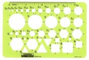 -Chartpak General Purpose Drafting and Design Templates pocket pal