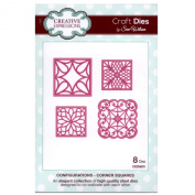 Craft Die CED6501 Sue Wilson Configurations Collection - Corner Squares