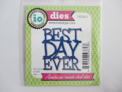 impression obsession BEST DAY EVER craft die