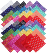 Tula Pink TRUE colours Precut 13cm Cotton Fabric Quilting Squares Charm Pack Assortment Free Spirit