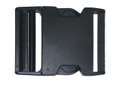 5.1cm Side Release Buckle Pack Plastic Black Buckles for Nylon Web Belts, Replacement Buckles for Camping Gear, Packs, or Any Other Purpose. Comes in Packs of 2, 5 or 10 Buckles By Contractor Pro