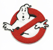 GHOSTBUSTERS Iron On/Sew On Embroidered Patch