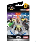 Disney Infinity 3 Toy Box Game Piece Package Speedway