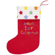 JoJo Maman Bebe Baby's First Christmas Stocking