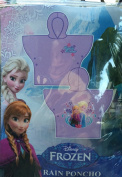 Disney Frozen Vinyl Rain Poncho Anna and Elsa Family Forever Style